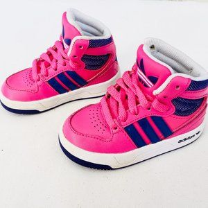 Adidas EVM Pink High Top Sneakers